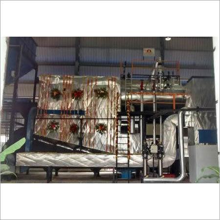 Reciprocating Step Grate Furnace Steam Boiler