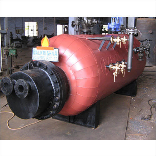 Vertical Four Pass FBC Fired Hot Water Boilers