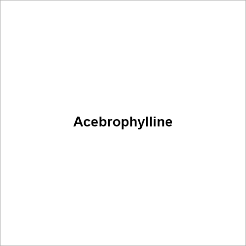 Acebrophylline Compound