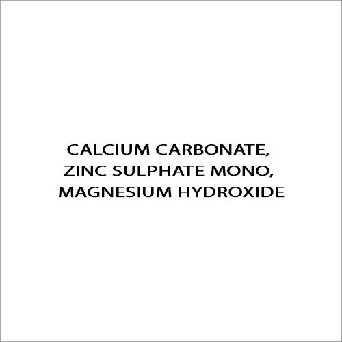 Calcium Carbonate - Zinc Sulphate Mono - Magnesium Hydroxide