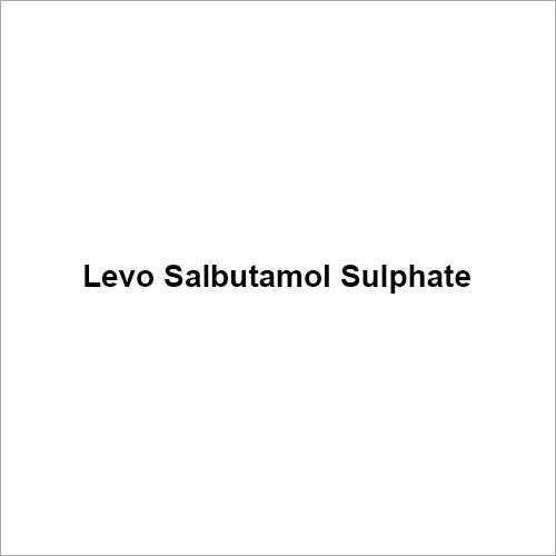 Levo Salbutamol Sulphate