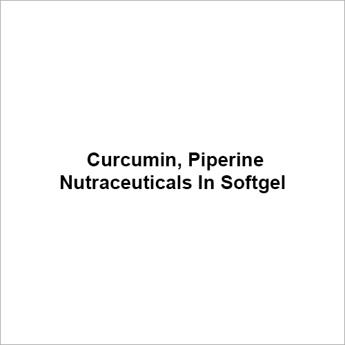 Curcumin Piperine Compound