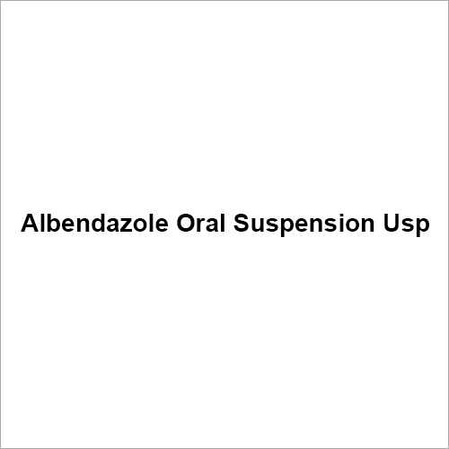 Albendazole Oral Suspension Usp