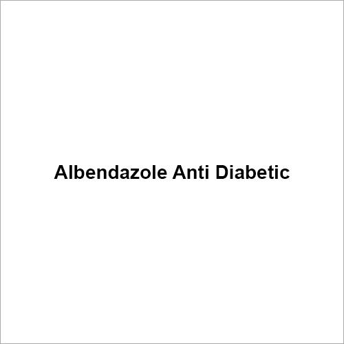 Albendazole Anti Diabetic
