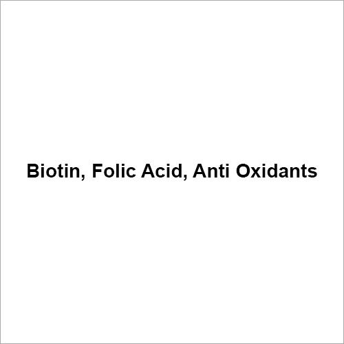Biotin Folic Acid Antioxidant
