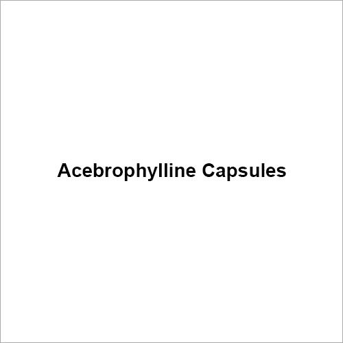 Acebrophylline Capsule
