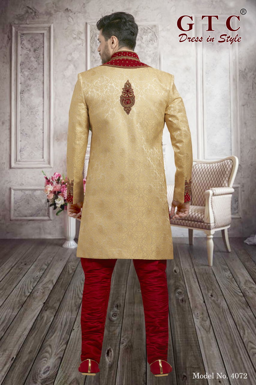 4072 EXCLUSIVE & WEDDING SHERWANI