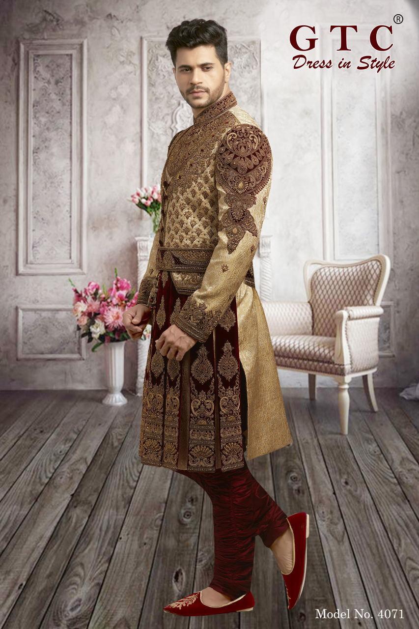 4071 EXCLUSIVE & WEDDING SHERWANI