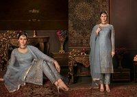 Banarasi Silk Embroidery Suit