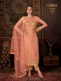 Banarasi Silk Embroidery Suit