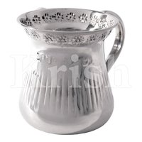 Pitcher Style Stainless Steel Washing Cup with 2 Handles - designer