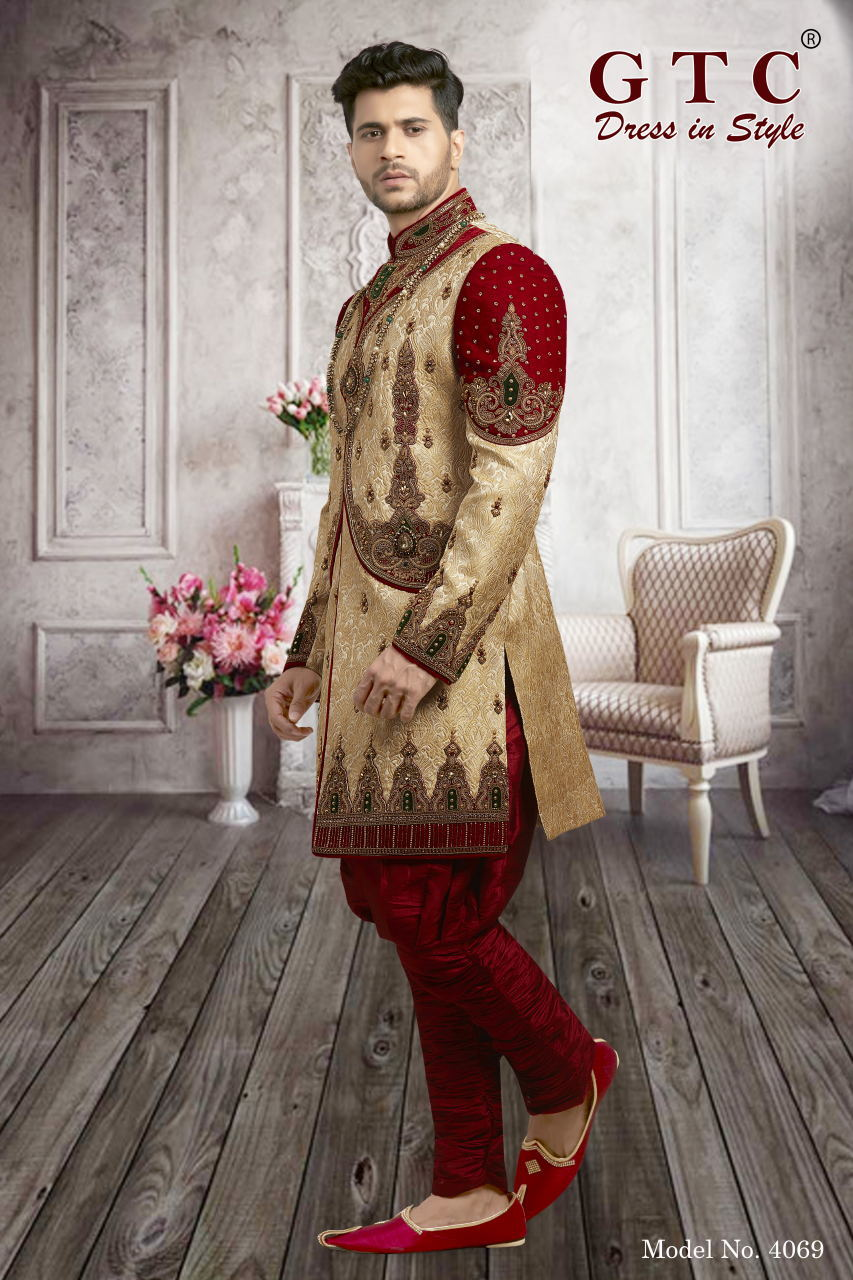 4069 EXCLUSIVE & WEDDING SHERWANI