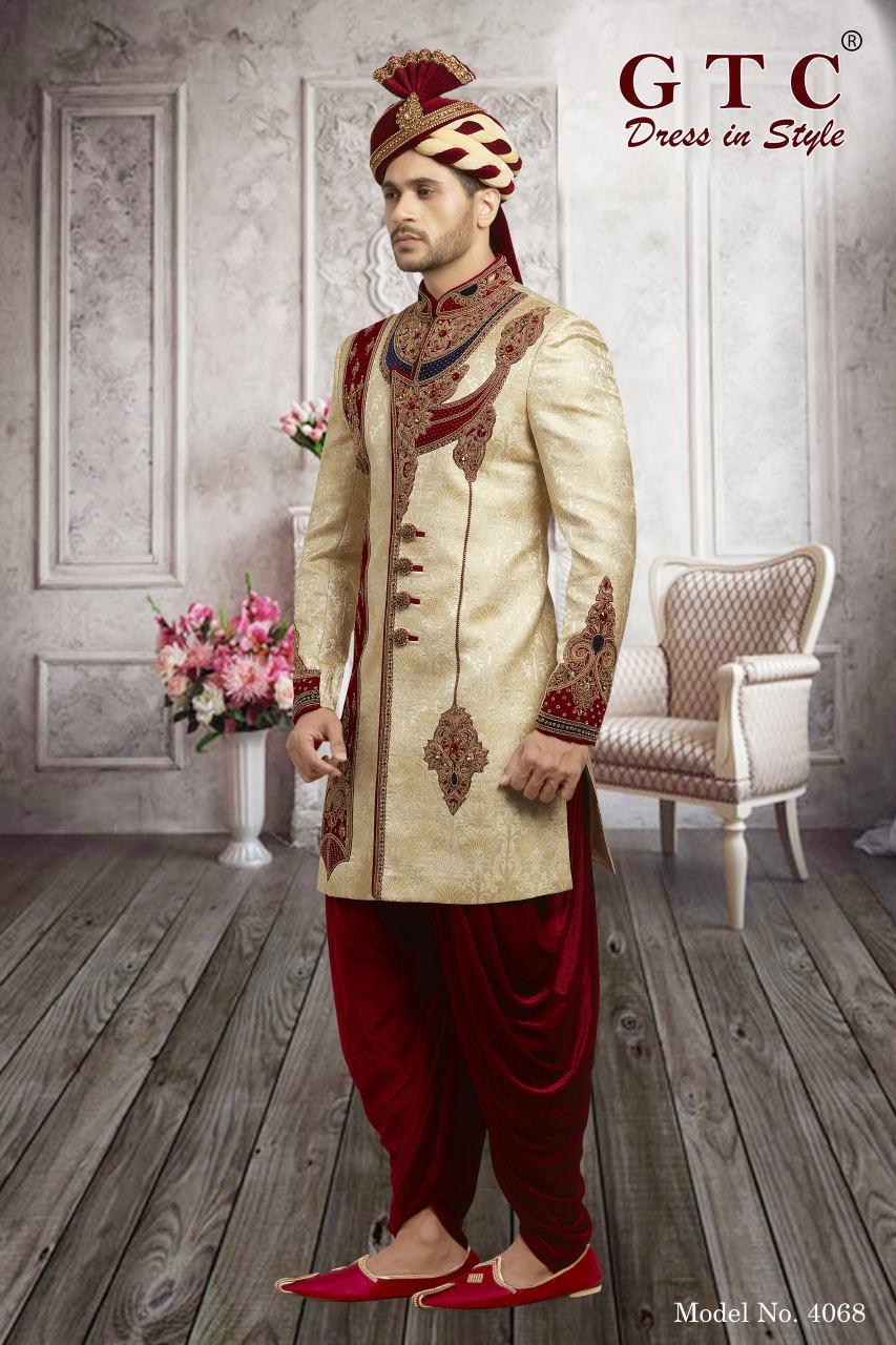 4068 Exclusive & Wedding Sherwani