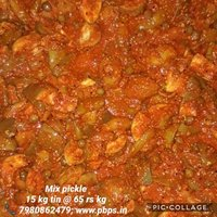 Mixed Pickle 15 kg tin