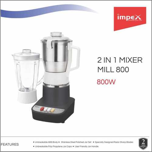 IMPEX Mixer Grinder (SMASH 800 MILL)