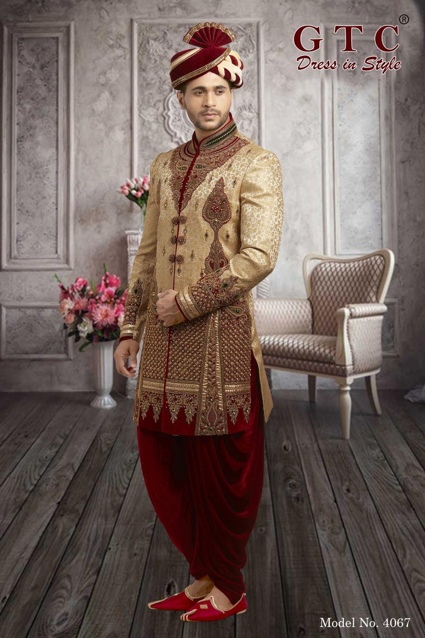 4067 Exclusive & Wedding Sherwani