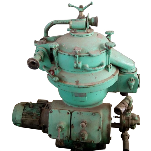 Furness And Crud Oil Separator Centrifuge Machine