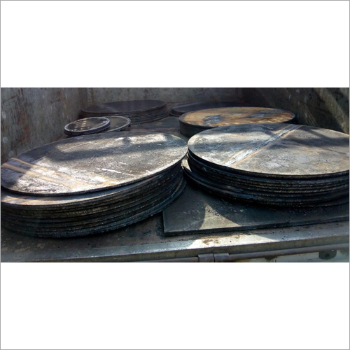 Ship Used MS Plate & Cutting