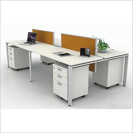 Metal Leg Workstation