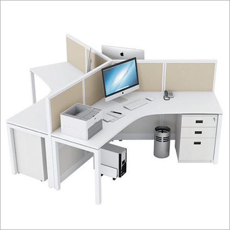 Metal Leg Based Office Workstation