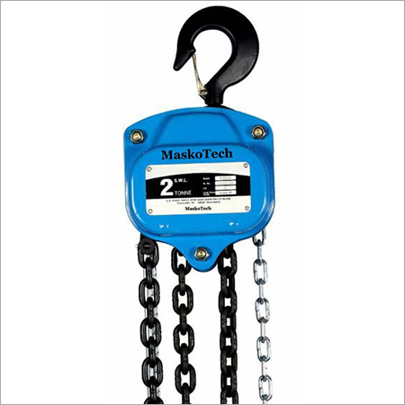 Light Duty Portable Chain Pulley Blocks