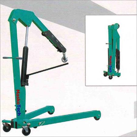 Foldable Hydraulic Floor Crane