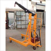 Manual Hydraulic Floor Crane