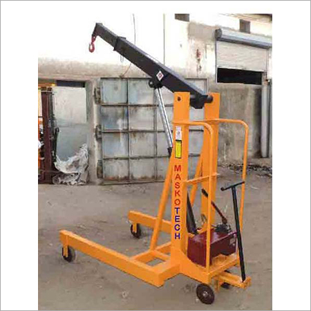 Electric Hydraulic Floor Crane