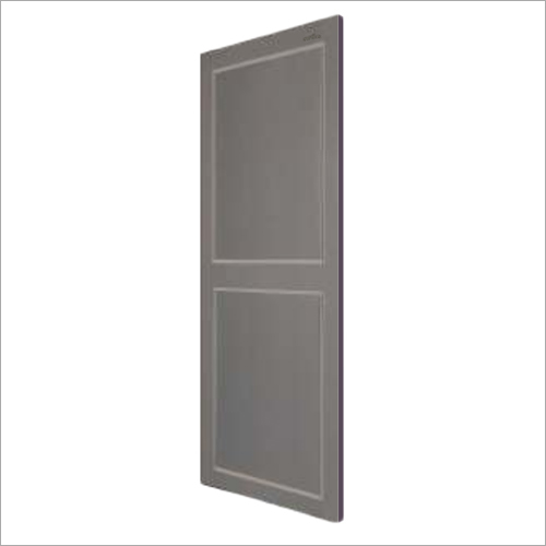 Gray Color PVC Panel Door