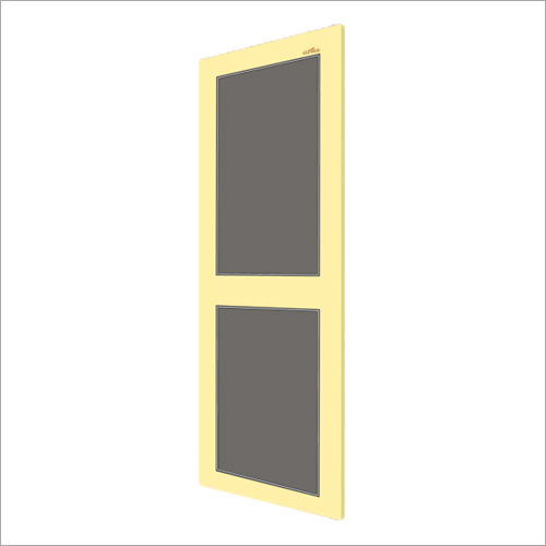 Ivory With Gray PVC Panel Door