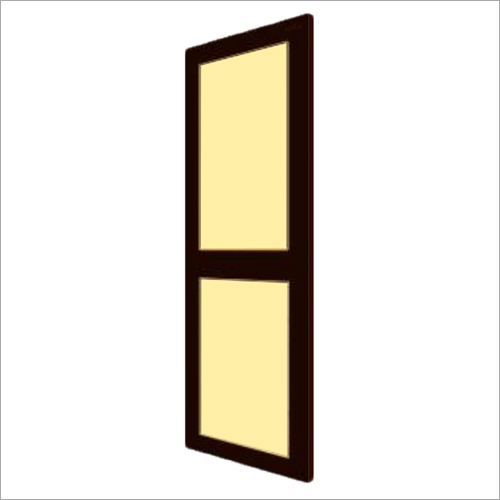 Brown With Ivory PVC Panel Door