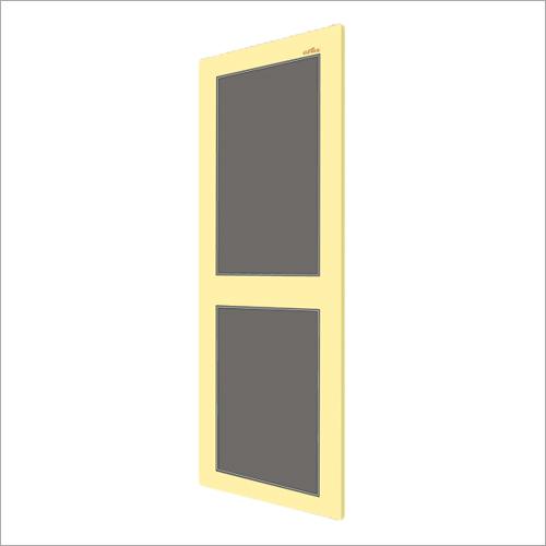 Ivory With Gray PVC Panel Door