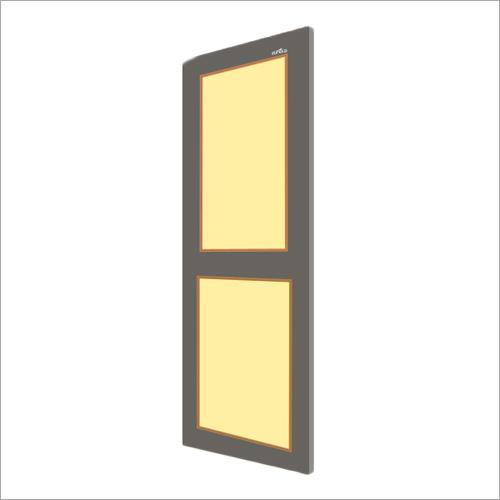Gray With Ivory PVC Panel Door