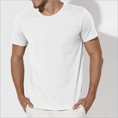 Mens White T Shirt