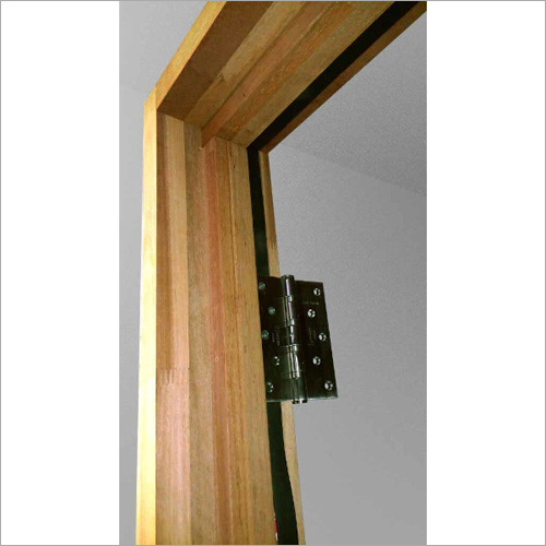 Solid Wood And Red Maranty Door Frame