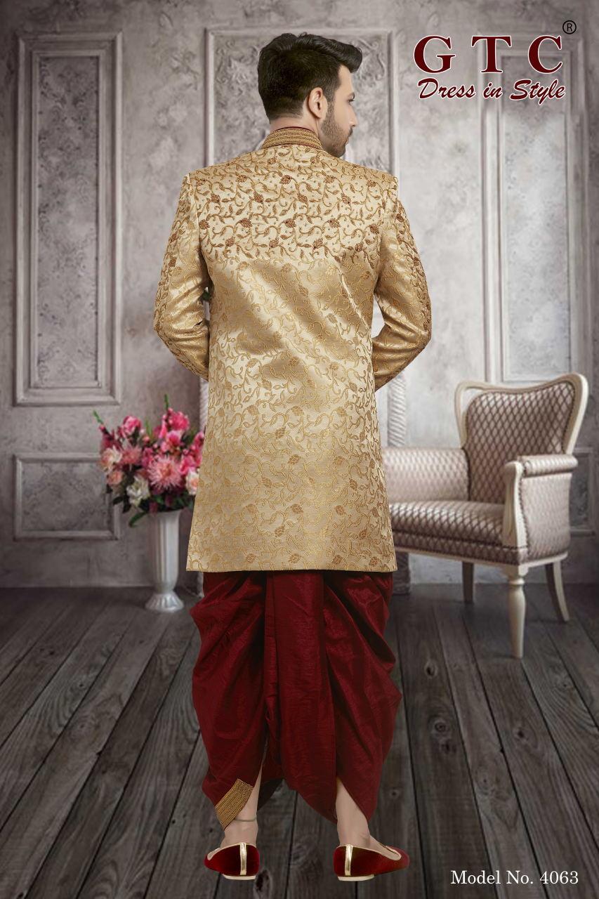 4063 Exclusive & Wedding Sherwani