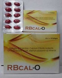 Calcitriol Calcium Carbonate Omega-3 Capsule