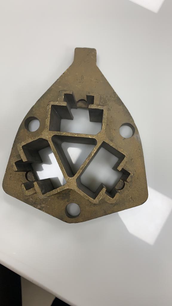 Carbon/Brass Brush Holder