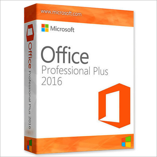 Microsoft Office Professional Plus 2016 Software