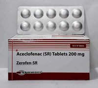 Aceclofenac 200 mg Tablet