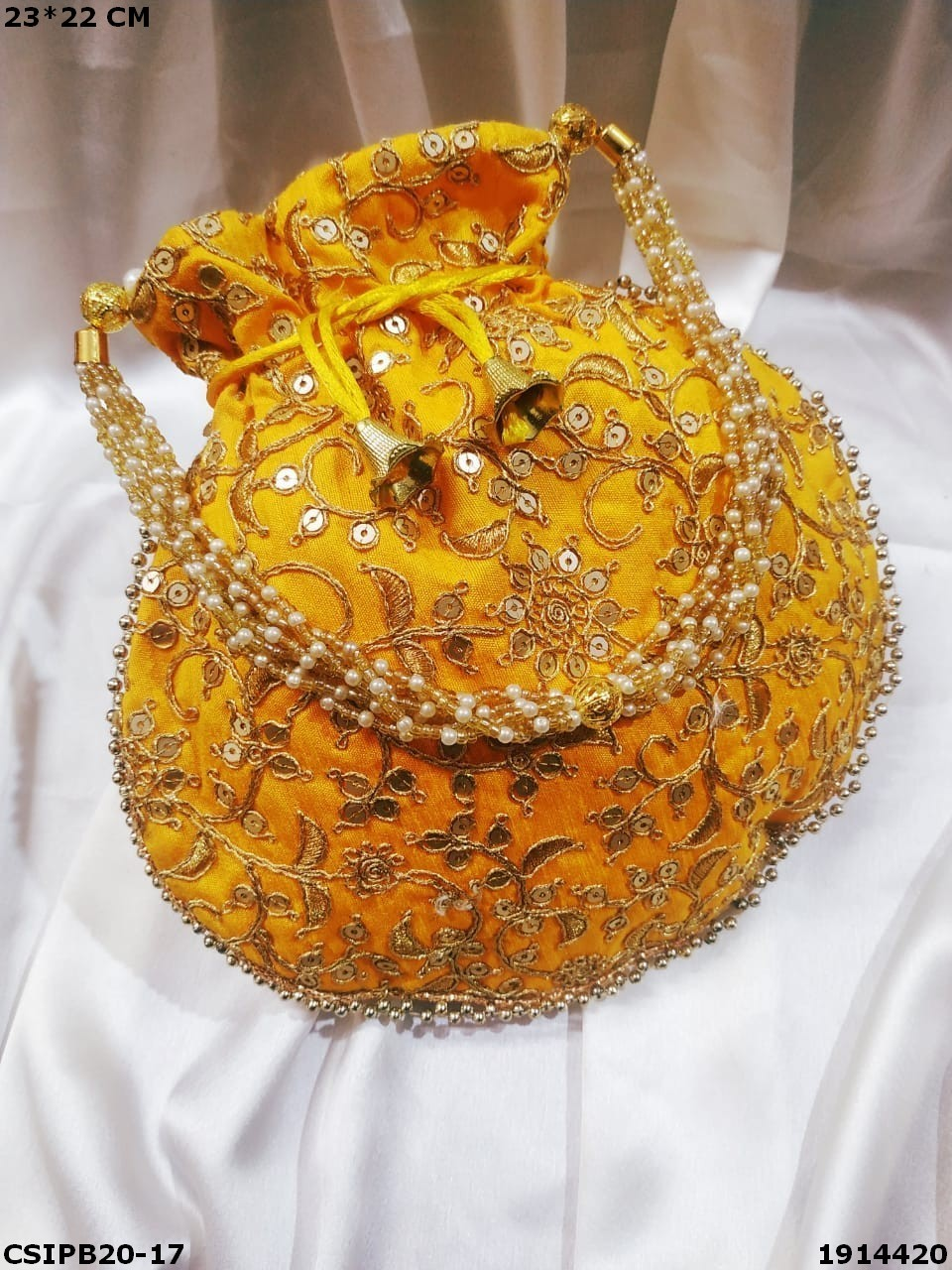 Handcrafted Ethnic Embroidered Potli Bag