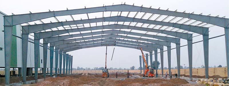 PEB Steel Structures Industrial Building