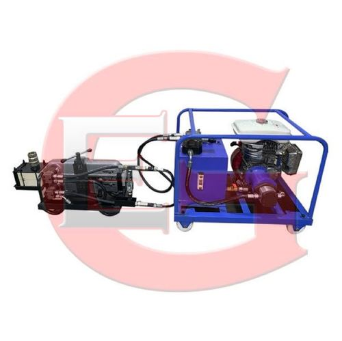 Hydraulic Cable Blowing Machine Set Up