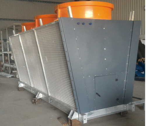 Dry type remote cooler