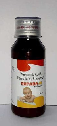 Mefenamic acid with Paracetamol Syrup