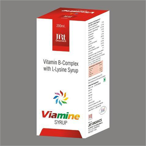 200 ml Vitamin B-Complex With L-Lysine Syrup