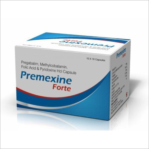 Pregabalim Methylcobalamin Folic Acid And Pyridoxine HCl Capsules