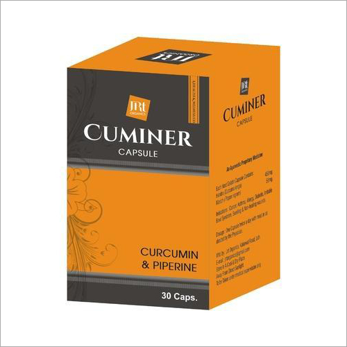Curcumin And Piperine Capsules