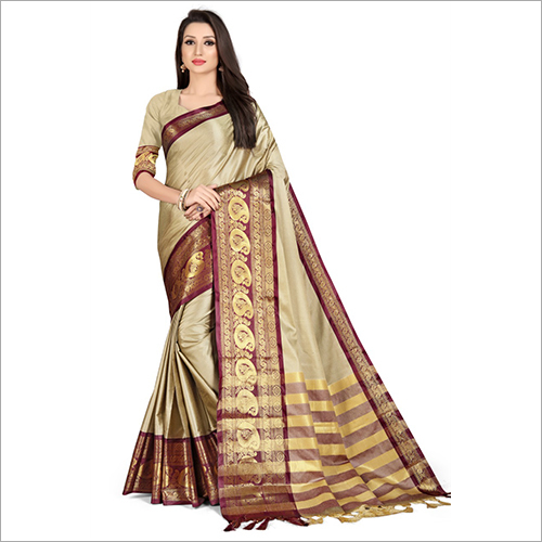 Ladies Designer Handloom Silk Saree
