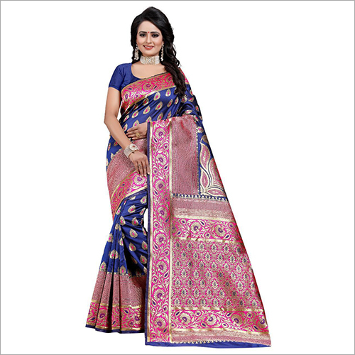 Ladies Party Wear Silk Saree